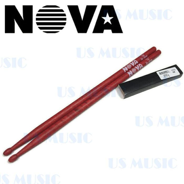【非凡樂器】『NOVA 7A爵士鼓棒』Vic Firth副廠/紅色鼓棒