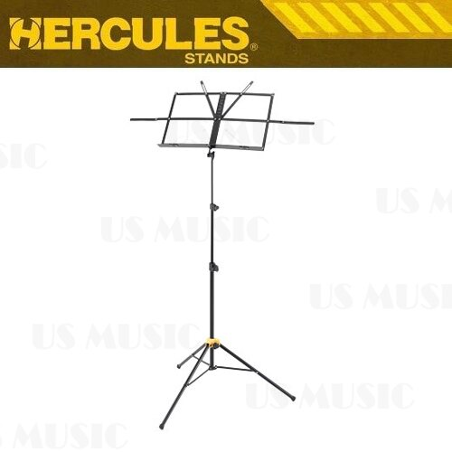 【非凡樂器】『Hercules 海克力斯 BS-050B』折疊式小譜架 收折時不佔空間,更易於攜帶