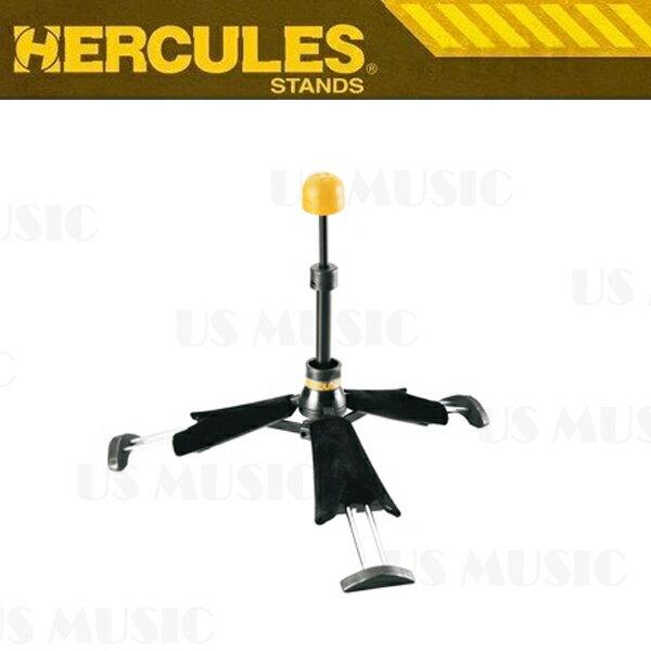 【非凡樂器】『HERCULES 海克力斯 DS440B』TravLite?折疊伸縮式豎笛架 可置入號口豎笛架