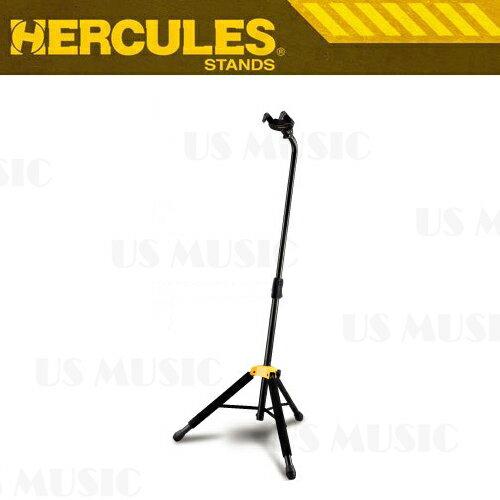 【非凡樂器】『HERCULES 海克力斯 GS414B』底靠式吉他架 創新的重力自鎖AGS系統