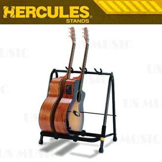 【非凡樂器】『海克力斯 HERCULES GS523B GS-523B』三支型吉他橫架 保護墊完整包覆所有接觸點 不傷害吉他表面 架身一體成型 收折方便