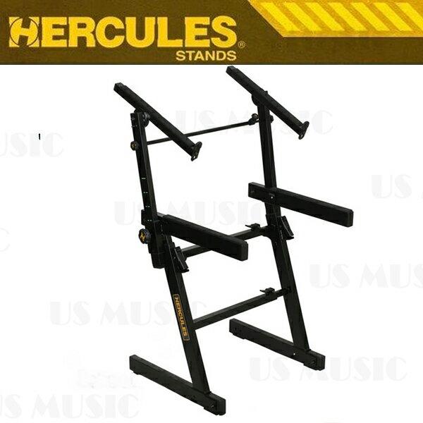 【非凡樂器】『HERCULES 海克力斯 KS-410B KS410B』雙層Z型鍵盤架 多項專利設計符合人體工學
