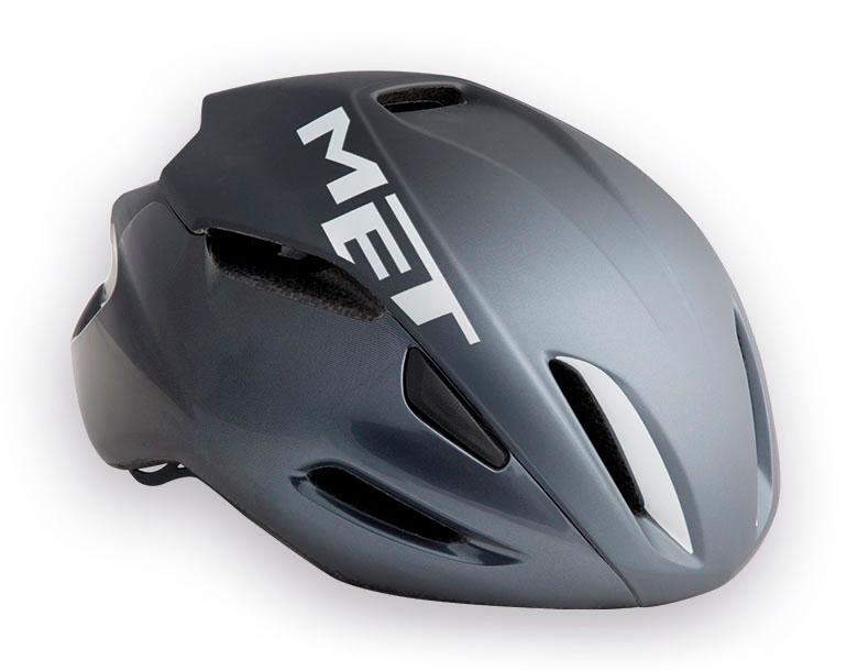 【7號公園自行車】Met 2017 MANTA頂級空氣動力帽(鐵灰)