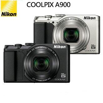 【世鈞免運倍數送】Nikon coolpix A900 高倍變焦4K錄影隨身類單機 (國祥公司貨)