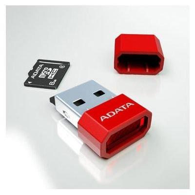 *╯新風尚潮流╭*威剛讀卡機 超迷你 可讀microSD microSDHC 終身保固 黑色 AM3RBKBL