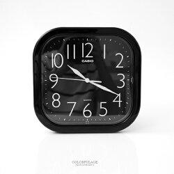 掛鐘 CASIO黑色方型數字時鐘 柒彩年代【NVC16】