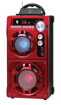 IFIVE HiFi    手提式卡拉OK音響 IF-S15209 -法拉利紅
