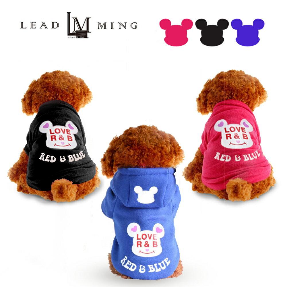 Leadming「P005」泰迪比熊連帽衣服 寵物外套 衣服 寵物 0