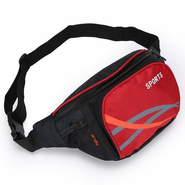 BO雜貨【SV6474】戶外旅行旅行腰包運動腰包雜物包防搶腰包隨身包單肩斜跨包做生意方便包登山休閒包
