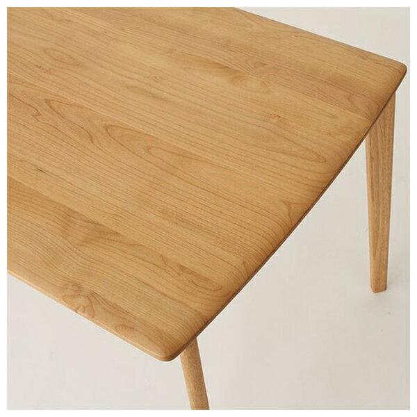 ◎實木餐桌 ALNUS 18080 LBR 榿木 NITORI宜得利家居 2