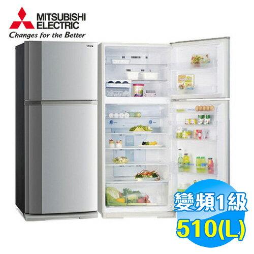 三菱 Mitsubishi 510公升 智慧變頻 負離子二門冰箱 MR-FT51EH