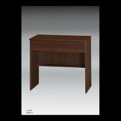 【石川家居】OU-755-6 胡桃2.7尺二抽辦公桌/書桌 (不含其他商品) 台北到高雄滿三千搭配車趟免運