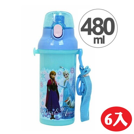 【晨光】日本製 2016最新款 兒童直飲式水壺 冰雪奇緣-6入(323843) 【預購】