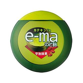 味覺e-ma扁圓罐喉糖-抹茶 33g