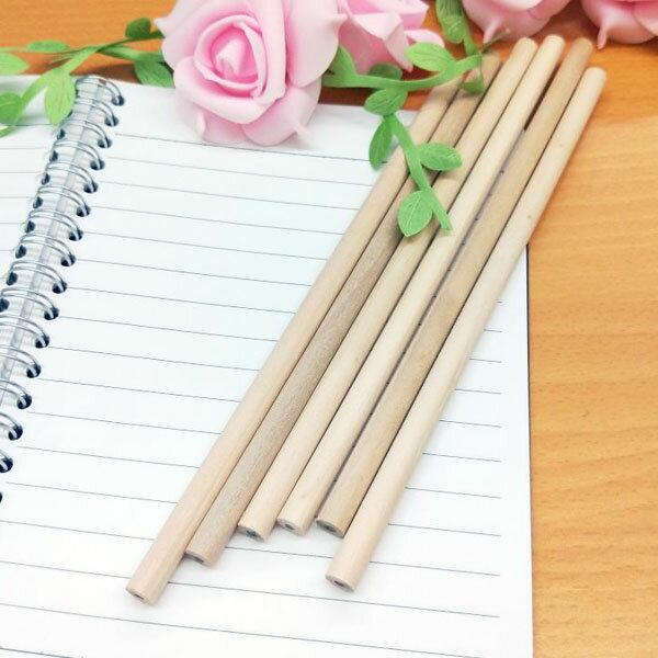 【aifelife】原木鉛筆木頭鉛筆原木圓型鉛筆素描筆手寫筆文具贈品禮品