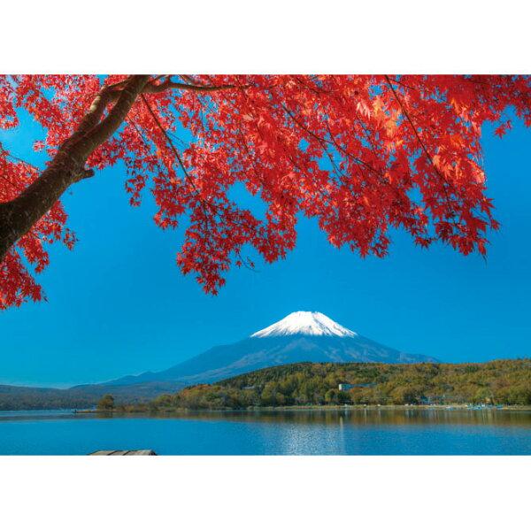【P2拼圖】富士山(山中湖)拼圖520片25-025
