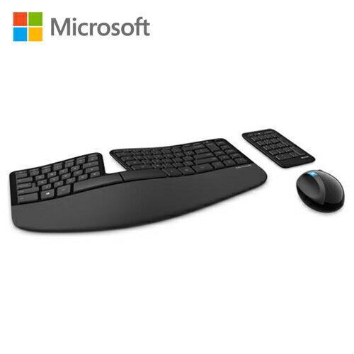 【Microsoft 微軟】Sculpt 人體工學鍵鼠組【三井3C】