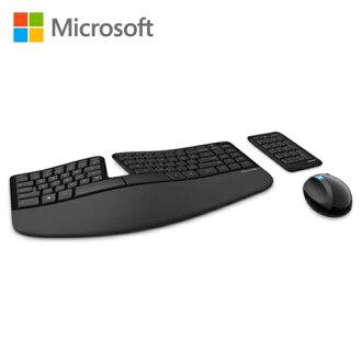 Microsoft 微軟 Sculpt 人體工學鍵鼠組【三井3C】