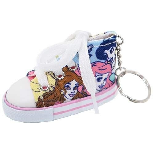 99元免運【五折】日本迪士尼 公主系列 可愛帆布鞋鑰匙圈 灰姑娘/小美人魚/長髮公主/茉莉 該該貝比日本精品