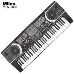 Jazzy 61鍵 M-9688 演奏型電子琴,麥克風自彈自唱+MP3輸出+演奏型音質,贈琴袋+全配,電鋼琴 手捲鋼琴