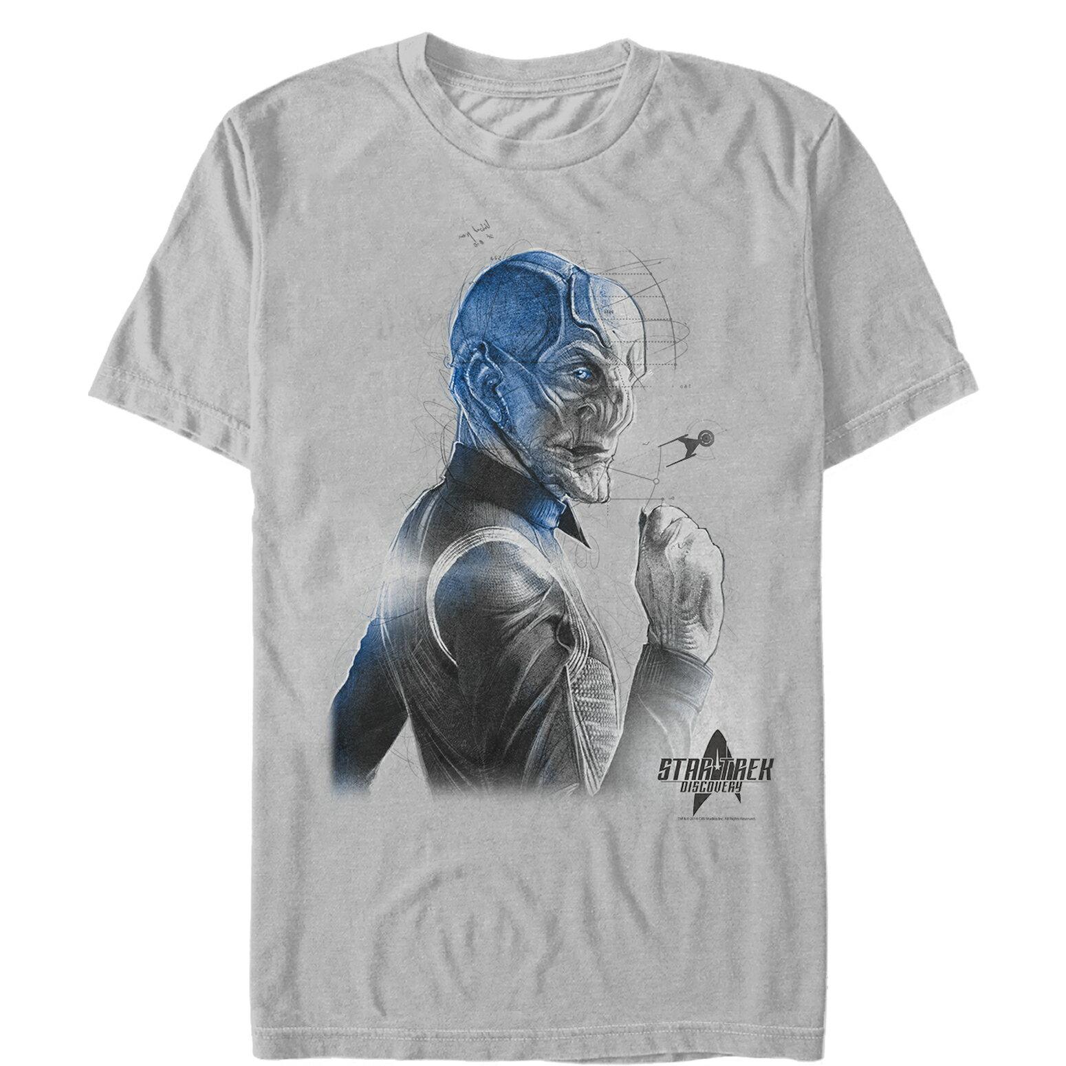 af43394df FifthSun: Star Trek Discovery Saru Details Mens Graphic T Shirt ...