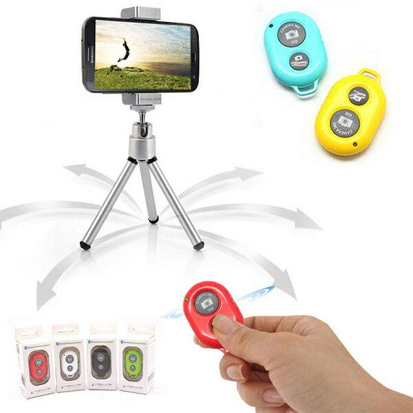 藍牙接收 自拍神器 遙控快門 藍牙快門 手機 相機 自拍架 蘋果 三星 HTC