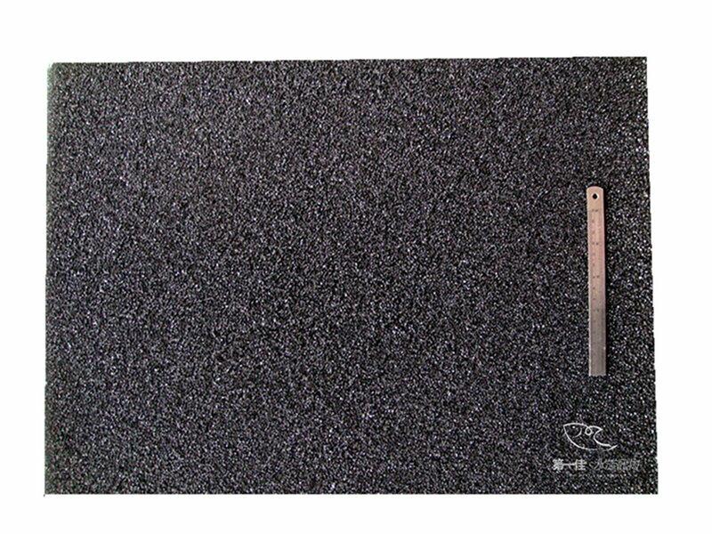 [第一佳水族寵物]批發台製生化棉2尺生化棉-黑(粗目)魚菜共生可用 [ 60*45*5cm] 基礎培菌濾材