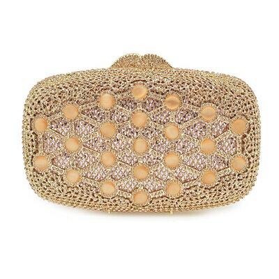 晚宴包鑲鑽手拿包-歐美時尚高貴閃耀女包包3色73su39【獨家進口】【米蘭精品】