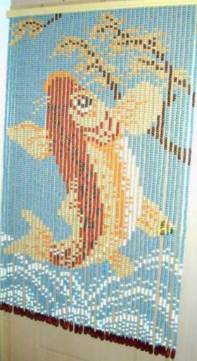 米詩蘭 日式木珠簾 A 1