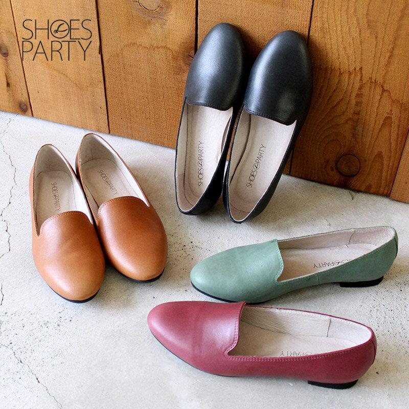 【C2-17916L】素面牛皮歐貝拉_Shoes Party 0