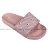 Shoestw【913250166】CHAMPION 拖鞋 運動拖鞋 滿版小LOGO 粉紅色 女生尺寸 0