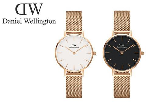 【 Daniel Wellington】 DW  精品手錶 白面 / 黑面金米蘭 28mm / 32mm  (女 保固一年 Palace store) 0