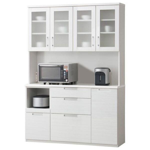 ◎(OUTLET)櫥櫃 DAHLIA 140KB WH 福利品 NITORI宜得利家居 1