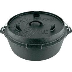 【速捷戶外露營】PETROMAX FT9-T DUTCH OVEN 鑄鐵荷蘭鍋12吋(平底)