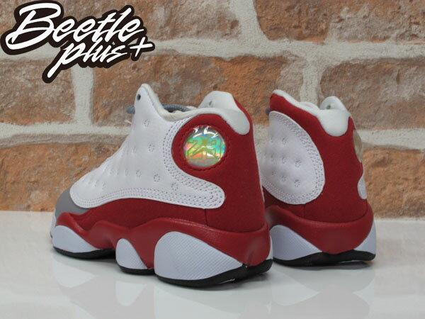 中童 BEETLE NIKE AIR JORDAN 13 RETRO BR 白紅 灰 復古 籃球鞋 414575-126 2