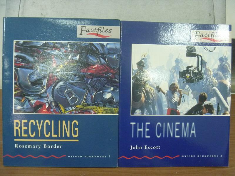 【書寶二手書T3/語言學習_MFQ】Recyling_The Cinema_2本合售