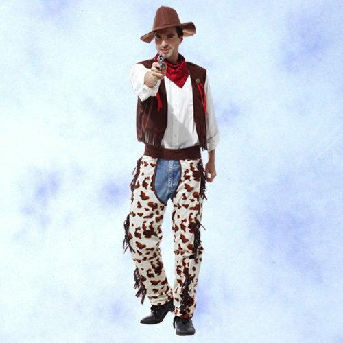 GTH-1465帥氣西部牛仔裝化裝舞會表演造型服
