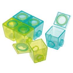 英國 Brother Max 副食品防漏保鮮分裝盒/冰磚盒(小號6盒裝)