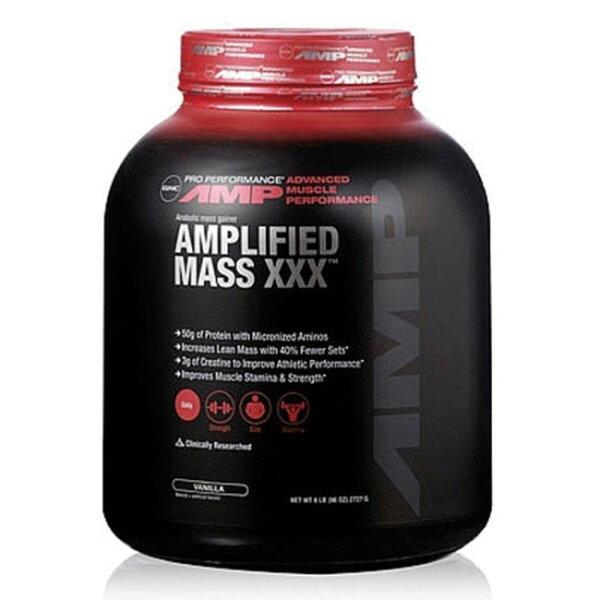 【GNC健安喜】AMP麥斯飲品-6磅(2727g)(乳清蛋白高蛋白肌酸)(巧克力口味香草口味)