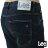 Lee 牛仔褲 731中腰舒適小直筒牛仔褲- 男款-深藍 9