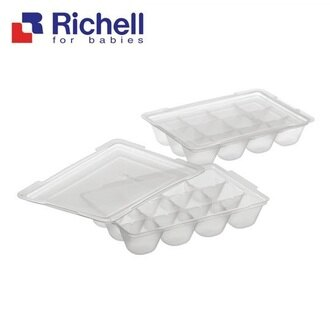 Richell利其爾 - 離乳食連裝盒 15ml/2組 (含上蓋)