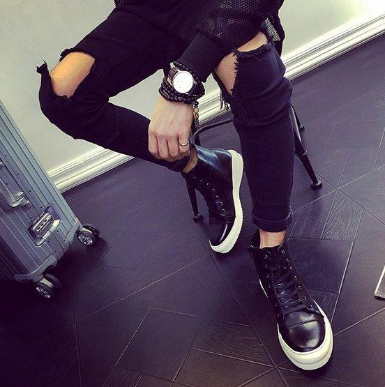 歐美 訂製 高品質 真皮鞋款  GD HM KFM 真皮靴