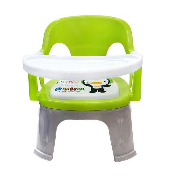 『121婦嬰用品館』PUKU Crocodile小鱷魚餐盤BB椅 - 綠 0