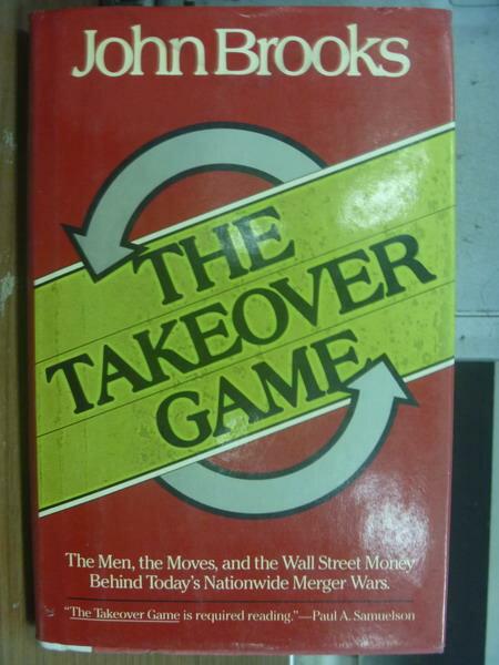 ~書寶 書T2/原文小說_PFX~The Takeover game_John Brook