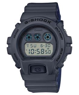 CASIOG-SHOCKDW-6900LU-8霧面雙色錶帶時尚數位腕錶