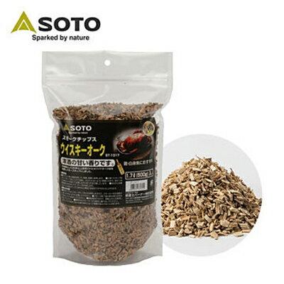 【SOTO 日本】橡木桶煙燻木片 橡木香氣-大 (ST-1317)