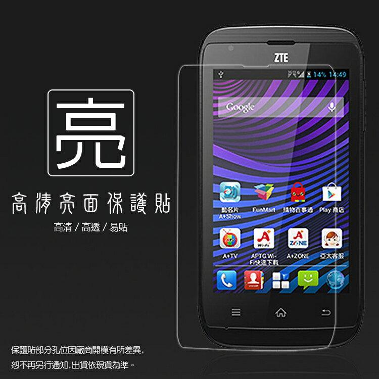 亮面螢幕保護貼 亞太 A+ World S1 ZTE N799D 保護貼 軟性 亮貼 亮面貼 保護膜