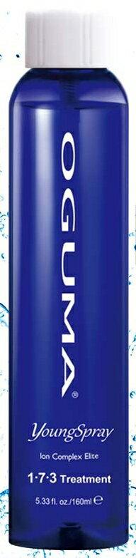 OGUMA 水美媒 2X 保濕噴霧/化妝水 160ml 1•7•3噴年輕 裸瓶無噴頭 *夏日微風*