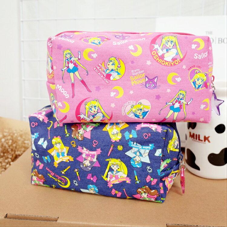 <br/><br/>  PGS7 日本卡通系列商品 - 美少女戰士 Sailormoon 棉質 化妝包 筆袋 收納包 小兔【SIJ7190】<br/><br/>
