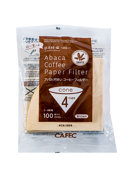 CAFEC 日本三洋 麻纖維 錐形濾紙 無漂白100入 HARIO V60 KONO可用『93 Coffee Wholesale』
